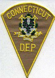Park: CT, Dept. of Enviromental Protection Patch (D.E.P)(tan)