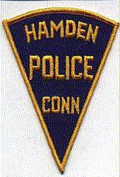 Hamden Police Patch (triangular) (CT)