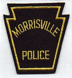Morrisville Police Patch (felt) (PA)