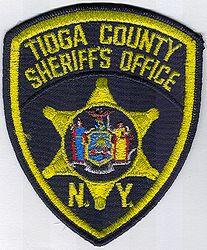 Sheriff: NY, Tioga Co. Sheriffs Office Patch