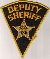 Sheriff: OH, Deputy Sheriff Patch (5 point star)