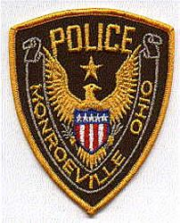 Monroeville Police Patch (yellow edge) (OH)