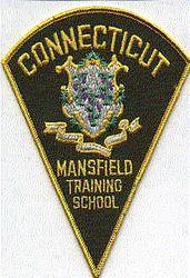 School: CT, Mansfield Training School Patch