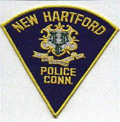 New Hartford Police Patch (CT)