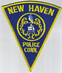 New Haven Police Patch (CT)