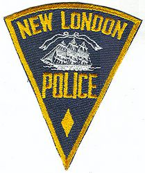 New London Police Patch (CT)