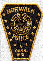 Norwalk 1651 Police Patch (new) (CT)