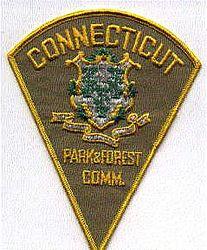 Park: CT, Park & Forest Comm. Patch (tan)