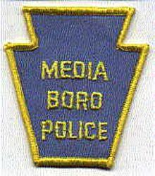 Media Boro Police Patch (PA)