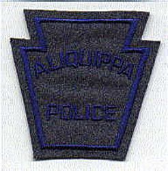 Aliquippa Police Patch (felt) (PA)