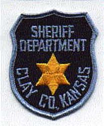 Sheriff: KS, Clay Co. Sheriffs Dept. Patch