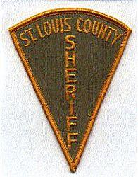 Sheriff: MN, St. Louis Co. Sheriff Patch (tri-shape)