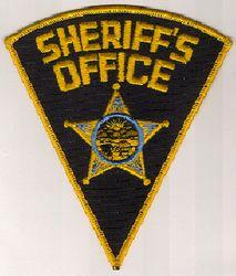 Sheriff: OH, Sheriffs Office Patch