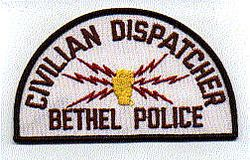 Bethel Civilian Dispatcher Police Patch (PA)
