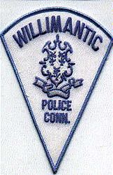 Willimantic Police Patch (CT)
