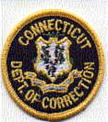 Dept. of Correction Patch (cap badge) (CT)
