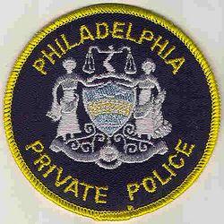 Philadelphia Private Police Patch (PA)