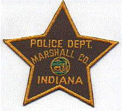 Marshall Co. Police Patch (IN)