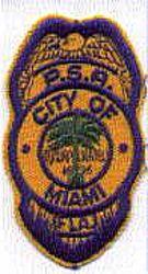 Miami P.S.A. Patch (cap) (FL)