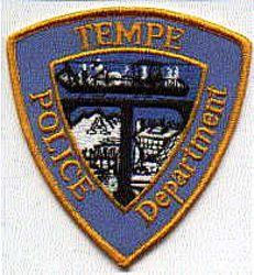 Tempe Police Patch (old) (AZ)
