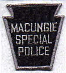 Macungie Special Police Patch (PA)
