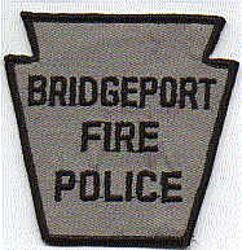 Bridgeport Fire Police Patch (PA)