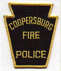 Coopersburg Fire Police Patch (PA)