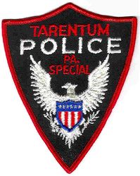 Tarentum Special Police Patch (PA)