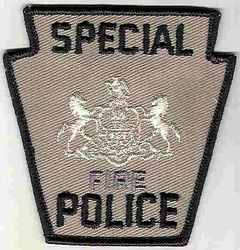 Special Fire Police Patch (PA)