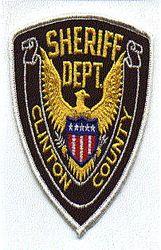 Misc: Clinton Co. Sheriffs Dept. Patch (white edge)
