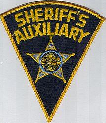 Sheriff: OH, Sheriffs Aux. Patch