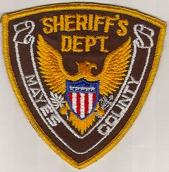 Sheriff: OK, Mayes Co. Sheriffs Dept. Patch (eagle)