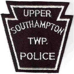 Upper Southampton Twp. Police (black/white, keystone, felt) (PA)