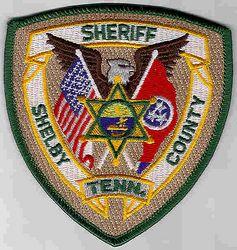 Sheriff: TN. Shelby Co. Sheriffs Dept. Patch