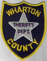 Sheriff: TX. Wharton Co. Sheriffs Dept. Patch