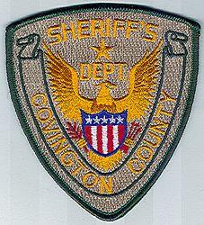 Sheriff: MS, Covington Co. Sheriffs Dept. Patch