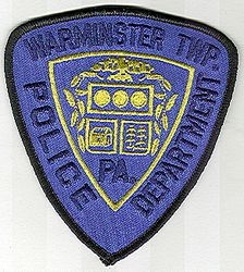 Warminster Twp. Police Patch (PA)