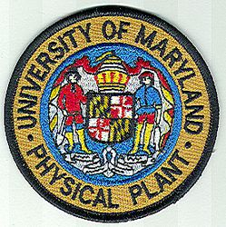 School: MD, Univ. of Maryland Physical Plant Patch
