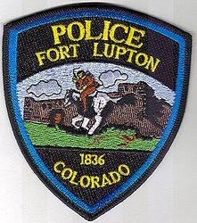 Fort Lupton Police Patch (CO)