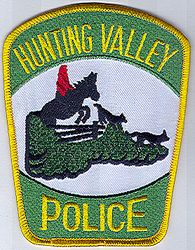 Hunting Valley Police Patch (OH)