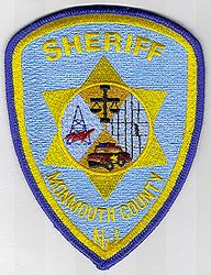 Sheriff: NJ, Monmouth Co. Sheriff Patch