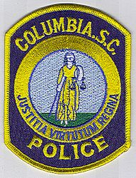 Columbia Police Patch (SC)