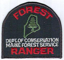 Park: ME, Forest Ranger Dept. of Conservation Patch