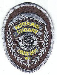 Cudahy Police Patrolman Patch (badge patch)(WI)