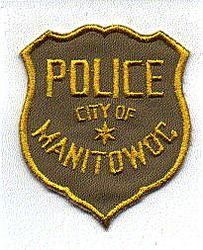 Manitowoc City Police Patch (yellow/tan) (WI)