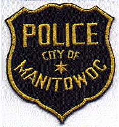 Manitowoc City Police Patch (yellow/black) (WI)