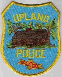 Upland 1683 Police Patch (PA)