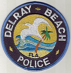 Delray Beach Police Patch (FL)