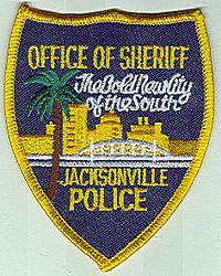 Sheriff: FL, Jacksonville Police Office of Sheriff Patch (cap)
