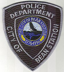 Bean Station Police Patch (TN)